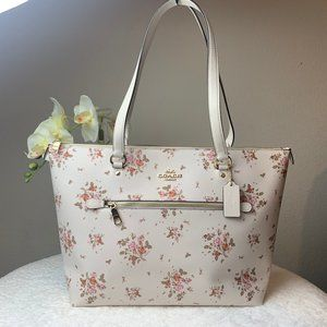 Coach Rose Gallery Tote